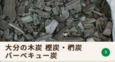 大分の木炭 樫炭・椚炭 バーベキュー炭