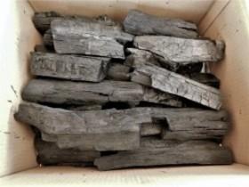 全国送料無料 大分の椚炭(くぬぎ炭)荒炭(5-20cm)3kg箱入り 大分県産 囲炉裏 BBQ炭
