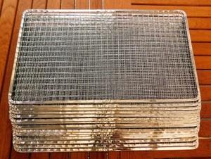 焼き網 バーベキュー 使い捨て金網長方形235×405mm(20枚入り)