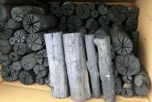 木炭 炭 お茶炭 大分の樫炭(かし炭)丸切炭15.2cm5kg 稽古用