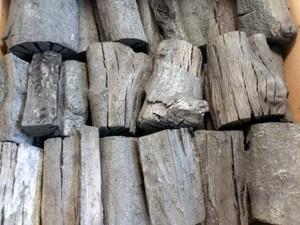 木炭 国産 大分樫炭(かし炭) 切炭6cm5kg 七輪の炭火焼きにお薦め
