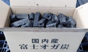 富士炭化工業 国産 オガ備長炭 国内産富士オガ炭(3-10cm)10kg 愛媛県産  国産品最高峰
