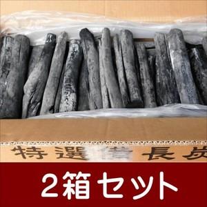 (送料無料 事業者限定) 備長炭 ラオス備長炭丸L4-15kg 2箱セット 高品質なマイチュー炭