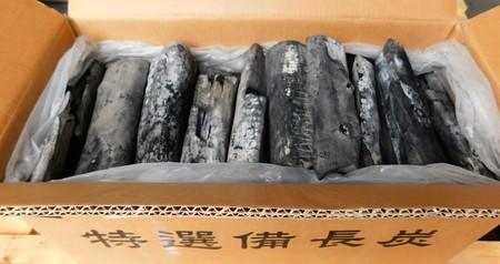 備長炭 ラオス備長炭割L6(切割)15kg 高品質なマイチュー炭