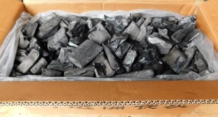 業務用 備長炭 ラオス備長炭割S6-15kg 高品質なマイチュー炭