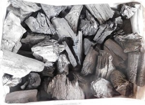 木炭 炭 大分の樫荒炭(5-10cm)10kg箱入り 大分県産