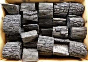 全国送料無料 大分椚炭(くぬぎ炭)切炭6-7.5cm10kg 大分県産