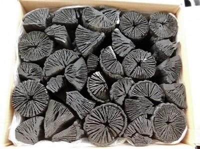 全国送料無料 木炭 炭 大分の椚炭(くぬぎ炭)切炭6-7.5cm5kg 大分県産