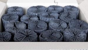 茶道 道具炭 大分椚炭(くぬぎ炭)丸切炭15cm(6-8cm)5kg 生産地 大分県