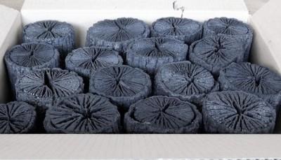 大分椚炭(くぬぎ炭)丸切炭15cm(6-8cm)5kg 生産地 大分県