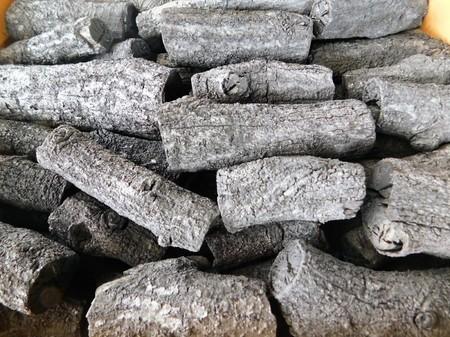 茶道 道具炭 大分椚炭(くぬぎ炭)丸切炭不揃い5kg径2-8cm 自社製