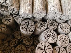 茶道 道具炭 大分椚炭(くぬぎ炭)丸切炭12cm(大中小)5kg 自社製