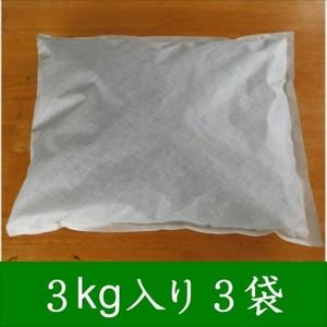 大分の木炭 床下用3kg 不織布入り 3個セット