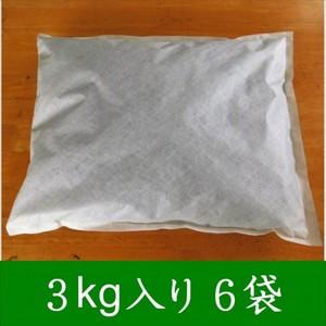 大分の木炭 床下用3kg 不織布入り6個セット