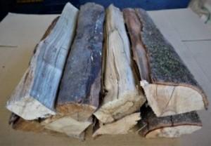 大分の薪 広葉樹ミックス直径 5-15cm長さ 約40cm 10kg 広葉樹の薪 乾燥薪