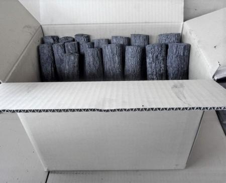 茶道 道具炭 大分椚炭(くぬぎ炭)丸切炭15cm(大中小)10kg 生産地 大分県